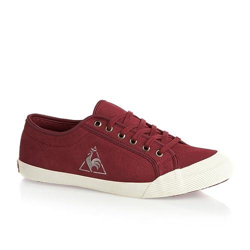 Le Coq Sportif - Zapatillas de ante para hombre rojo rojo: Amazon.es: Zapatos y complementos
