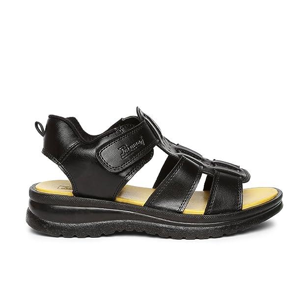 PARAGON Men Black Ethnic Sandal: Buy