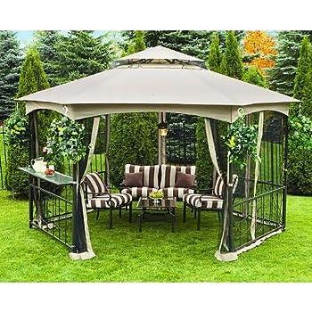 Vineyard Hexagon Gazebo Replacement Canopy - RipLock 350  sc 1 st  Amazon.com & Amazon.com : Garden Oasis Grandview Hex Gazebo Replacement Canopy ...