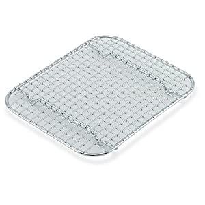 "Vollrath (20328) 10-7/8"" x 5-1/8"" Stainless Steel Super Pan II Wire Grate"