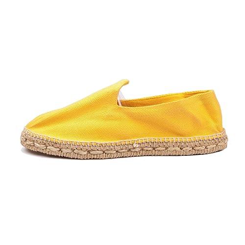 lo último e1ef0 6feec Alpargatas Yute Color Amarillo
