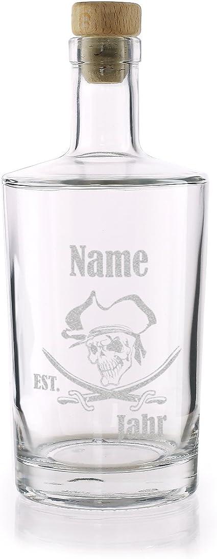 Privatglas Rum Jarra con grabado – Pirata – con grabado de ...
