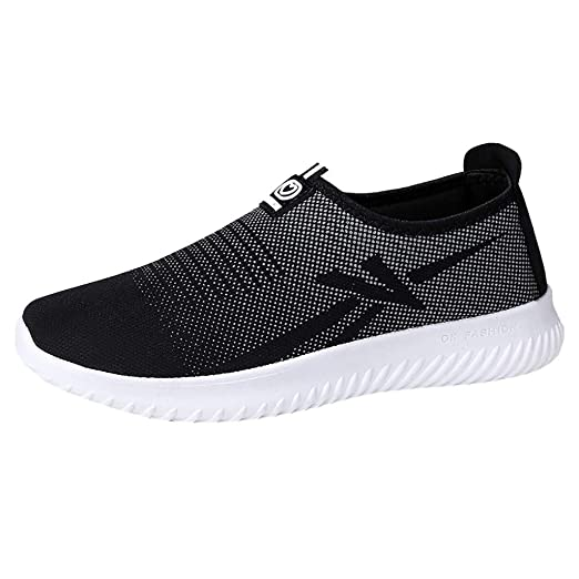 deb9f51d8a TIFENNY Men s Sneakers Shoe Slip-On Outdoor Casual Shoe Breathable Mesh  Lazy Shoes 2019 New