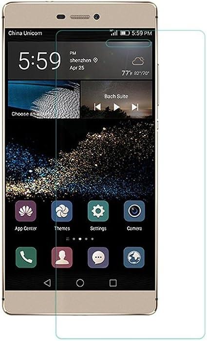 REY Protector de Pantalla para Huawei P8 Cristal Vidrio Templado Premium: Amazon.es: Electrónica