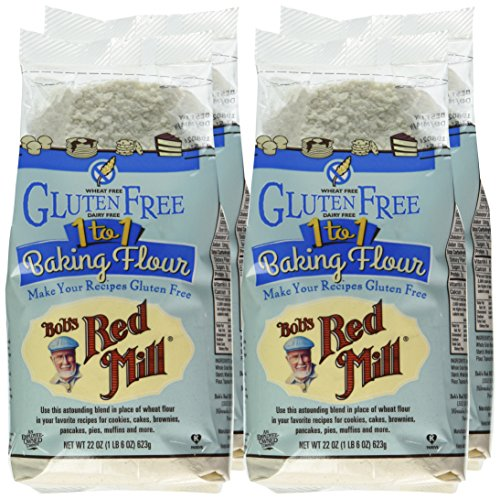 Bob's Red Mill Gluten Free 1-to-1 Baking Flour, 22 Ounce (Pack of 4) by Bob's Red Mill (Image #2)