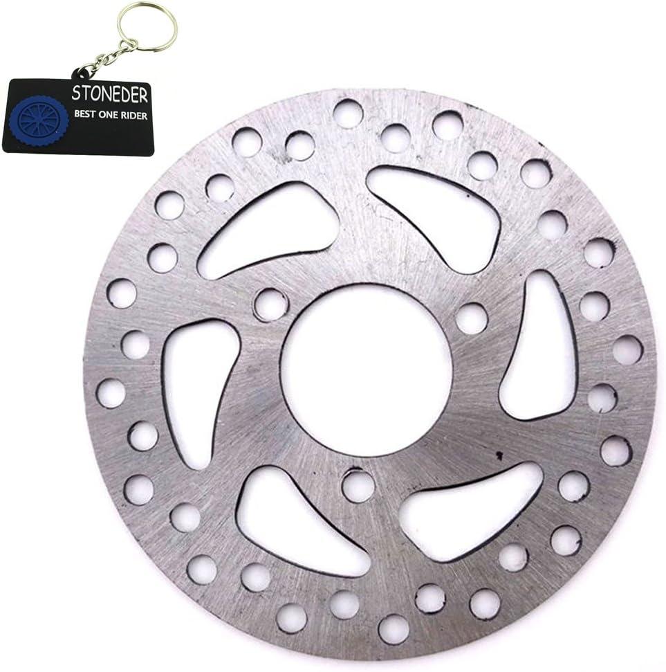 Stoneder Bremsscheiben Rotor Aus Stahl 35 Mm 120 Mm Für 2 Takt 47 Cc 49 Cc Gas Elektrik Scooter Für Kinder Pocket Bike Vierräder Atv Quad Mini Dirtbike Auto