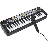 Mini Teclado Eléctrico Tablero de Teclas Digitales de 37 Teclas 3 Tonos 8 Ritmos Teclado Electrónico Piano Musical…