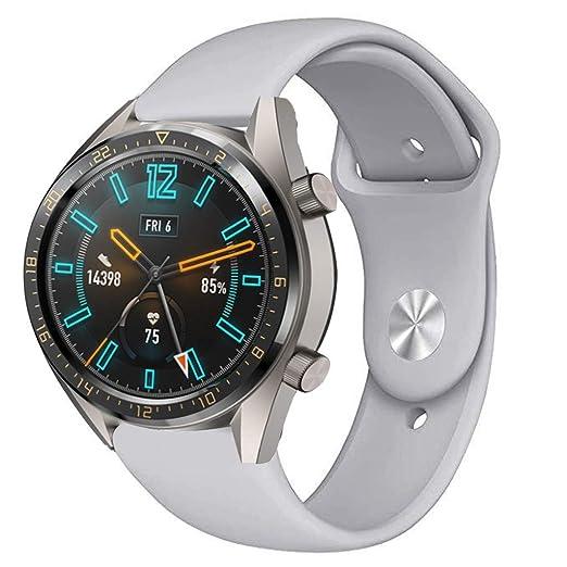 H.Eternal Huawei Correa de Silicona para Huawei Reloj GT ...