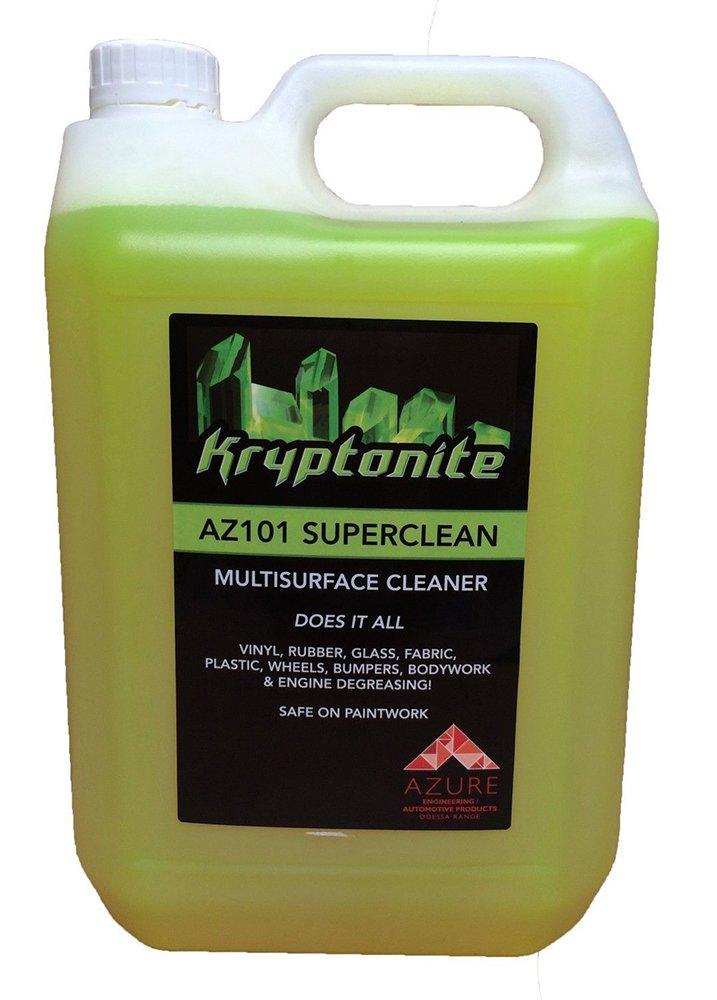 Kryptonite AZ G101 Super Clean Professional Strength Multi Purpose Cleaner - 5L Azure Liquid Solutions