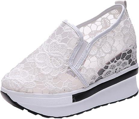 OHQ Augmenté Net Chaussures De Sport pour Femmes à Semelles