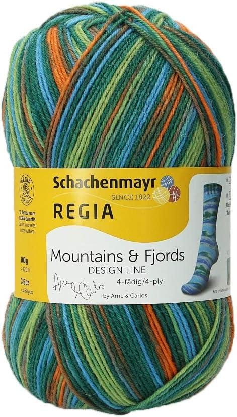 Schachenmayr REGIA Handstrickgarne Design Line 4-f/ädig 100g Utnefjord