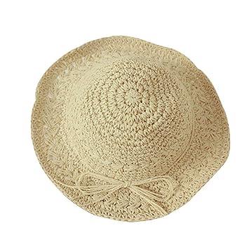 XINGZHE Sombrero de Sol para niños - Bebé Verano, Gorra Fresca, Gorra de Playa para niña, ...