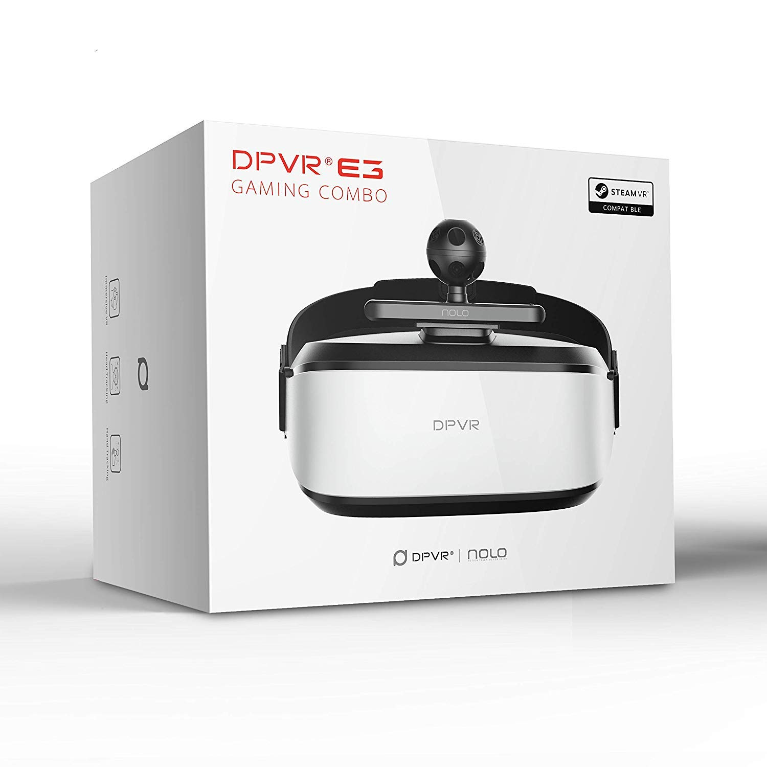DPVR E3-C Gaming Virtual Reality System, Compatible with SteamVR and  VIVEPORT