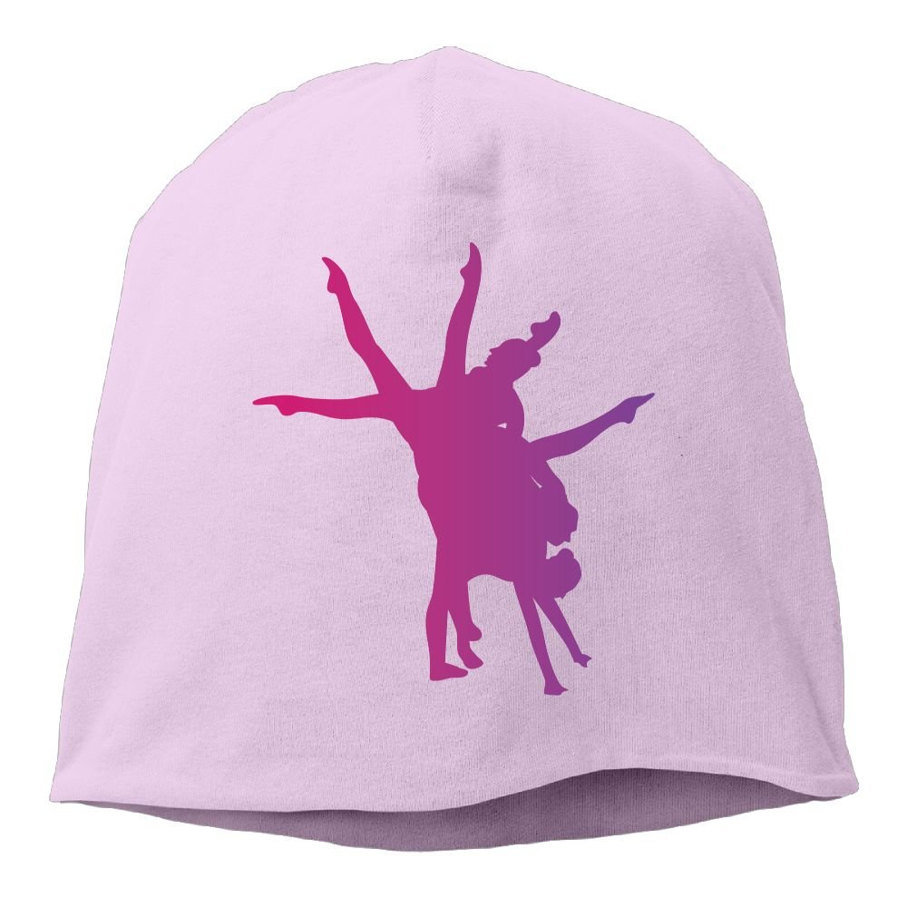 Janeither Headscarf Purple Girl Dance Hip-Hop Knitted Hat for Mens Womens Fashion Beanie Cap