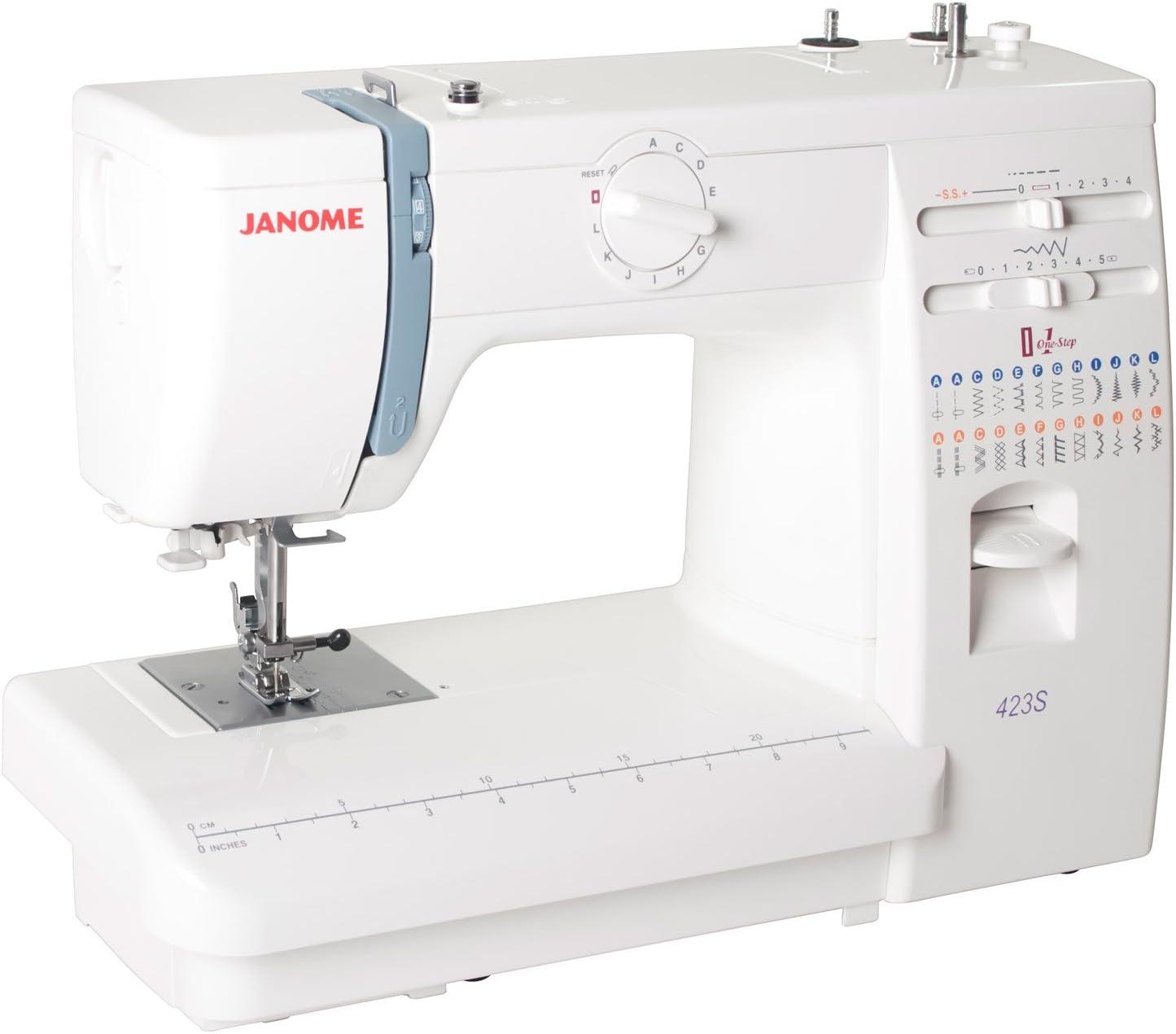 Janome - Máquina de Coser 423S Mecánica: Amazon.es: Hogar