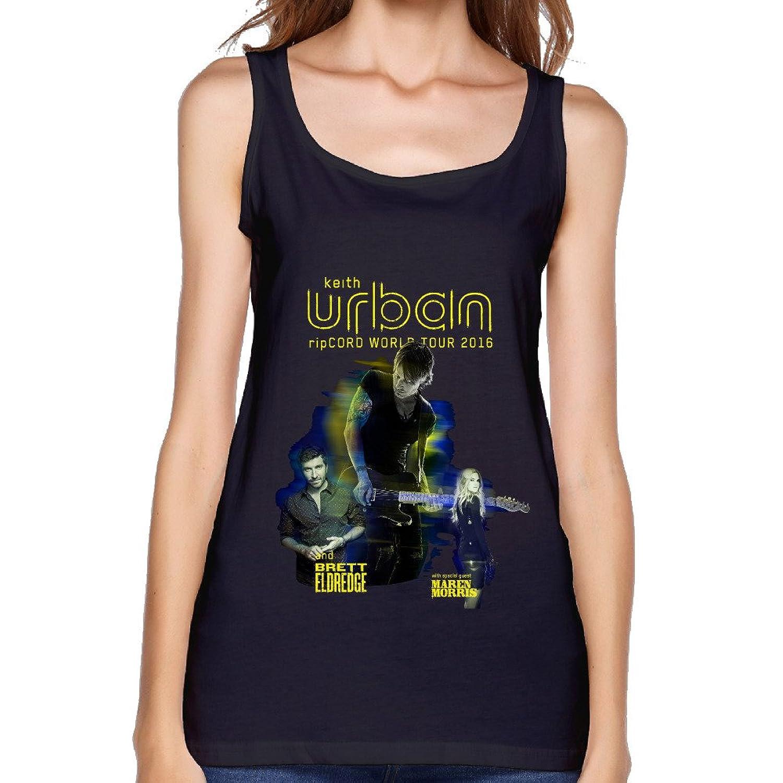 UTU Brett Eldredge Maren Morris RipCord Tour Womens Fashion Tank Top Black