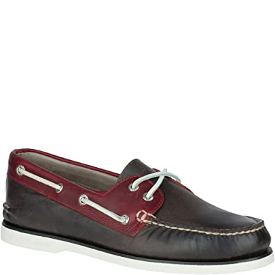 5acf30806b Sperry Top-Sider Gold A O 2 Eye Boat Shoe Brown    Amazon.co.uk  Shoes    Bags