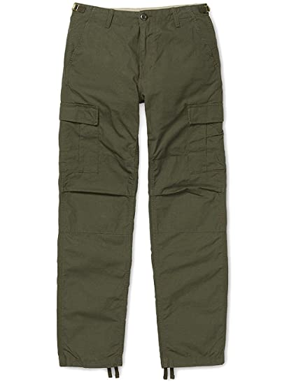 22fe1071cb Carhartt WIP Aviation Cargo Pant Cypress Rinsed 38/34: Amazon.co.uk:  Clothing