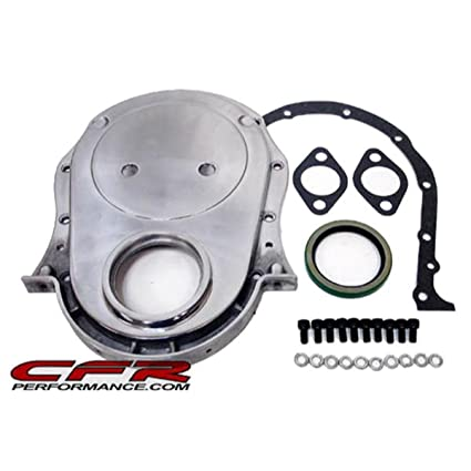 Chevy Big Block 396-402-427-454 Aluminum Timing Chain Cover Set - Polished