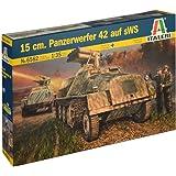 イタレリ タミヤ 1/35 ミリタリーシリーズ No.6562 ドイツ軍 15cmパンツァーベルファー42型 sWS搭載型 プラモデル 38562
