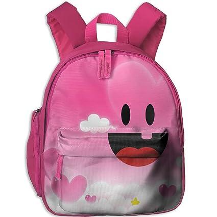 Bonita y elegante mochila escolar con bolsillo para niñas coloridos patrones maravillosos