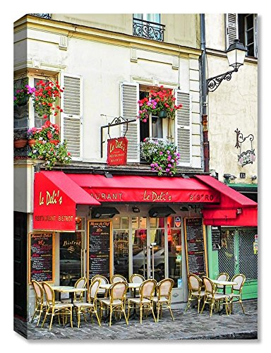Montmartre Bistro - Indoor Outdoor Art - Weatherprint Patio Art