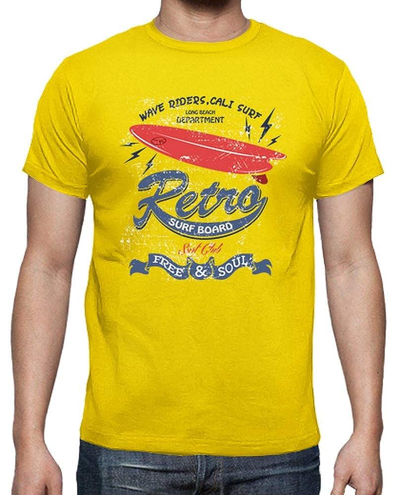 latostadora - Camiseta Tabla de Surf Retro para Hombre: mariana_godoy87: Amazon.es: Ropa y accesorios