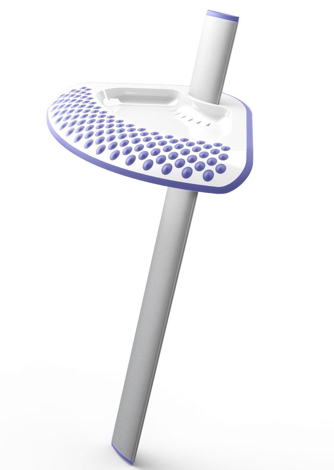 Shower Sidekick (Lavender) - Portable Adjustable Shower Shaving Stand - Shaving Ledge - Foot Rest