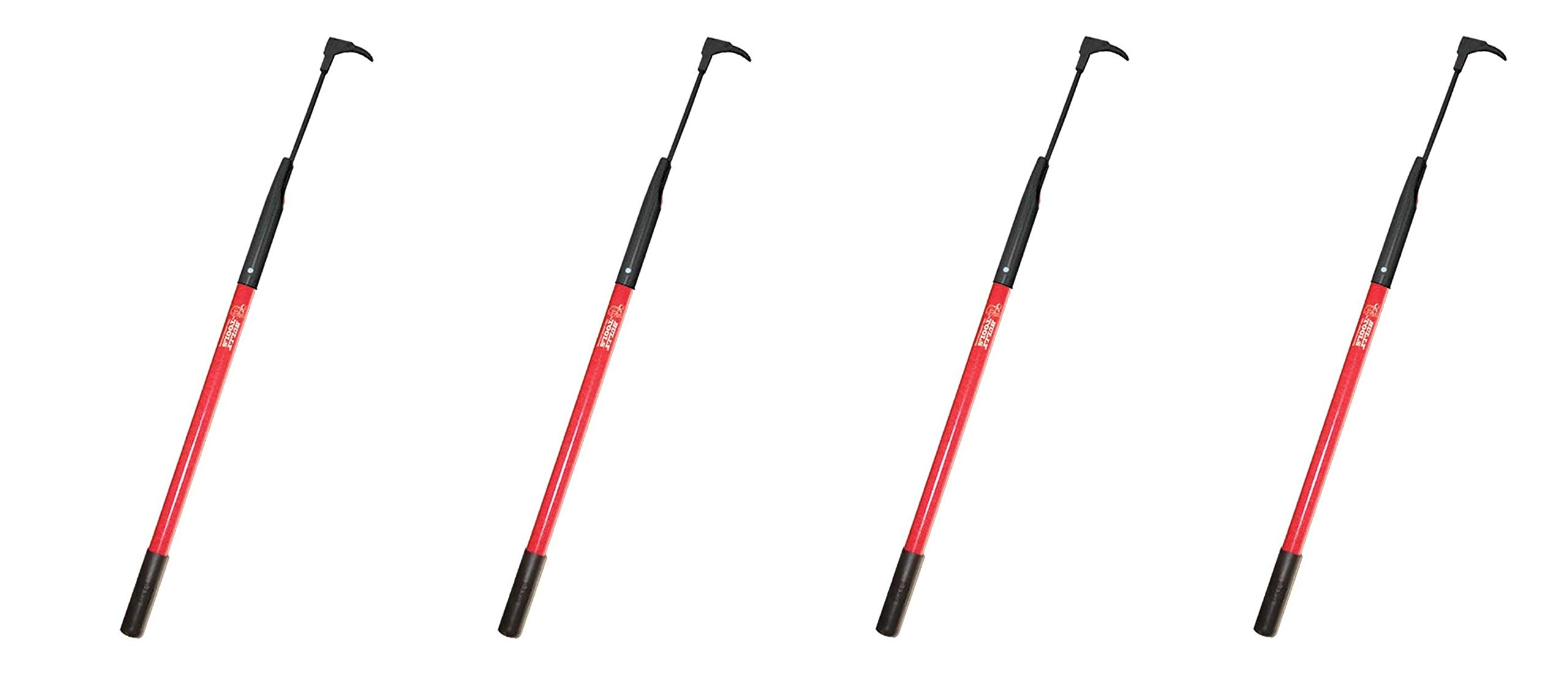 Bully Tools 92395 7-Gauge 3-Inch Bean Hook/Paver Weeder with Dual-Sided Blade (Pack of 4)