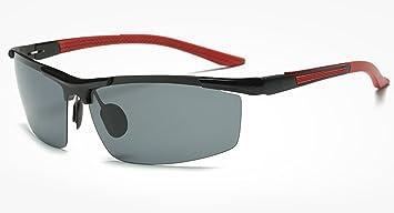 TianXY Gafas De Sol con Montura Metálica De Aluminio Y Magnesio Espejo De Conducción Polarizado De