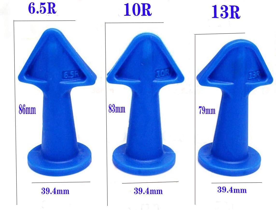 aplicador Herramientas de calafateo de Silicona Herramienta de Acabado de calafateo de Silicona 3 en 1 Boquilla zhuangyulin6 Boquilla de calafateo Boquilla de Acabado de calafateo