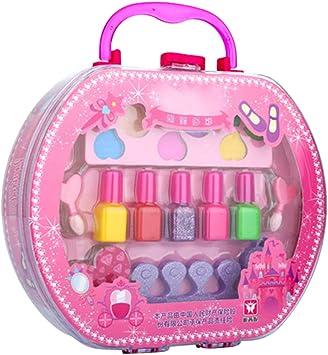 Toygogo Maletín de Maquillaje Organizador Cosméticos, Caja de Maleta de Maquillaje para niña 22x6x23cm: Amazon.es: Juguetes y juegos