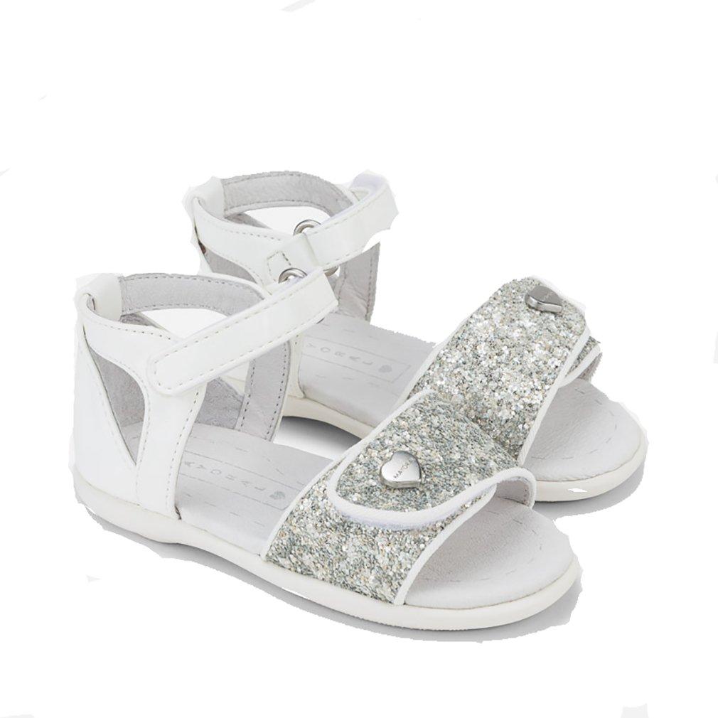 46b1139dde98 Mayoral Girls  Fashion Sandals White Bianco  Amazon.co.uk  Shoes   Bags