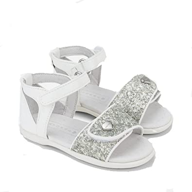 009ede724edd Mayoral Girls  Fashion Sandals White Bianco  Amazon.co.uk  Shoes   Bags