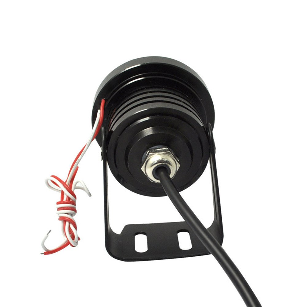 Lzcat 2 st/ücke High Power 3 projektor Universal LED Nebelscheinwerfer Wei/ß COB Halo Angel Eye Ringe