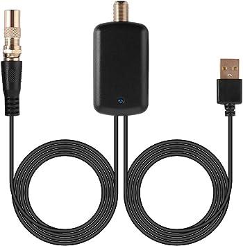 kreema High Gain HDTV Antena Amplificador de señal Booster 25 ...