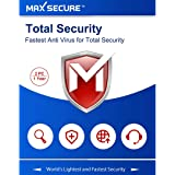 Max Secure Software Total Security Version 6 - 2 PCs, 1 Years (Email Delivery in 2 Hours - No CD)