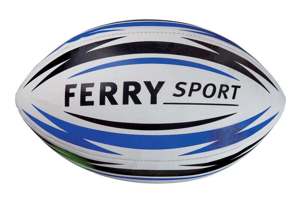 Ferry - Balón Rugby piel: Amazon.es: Juguetes y juegos