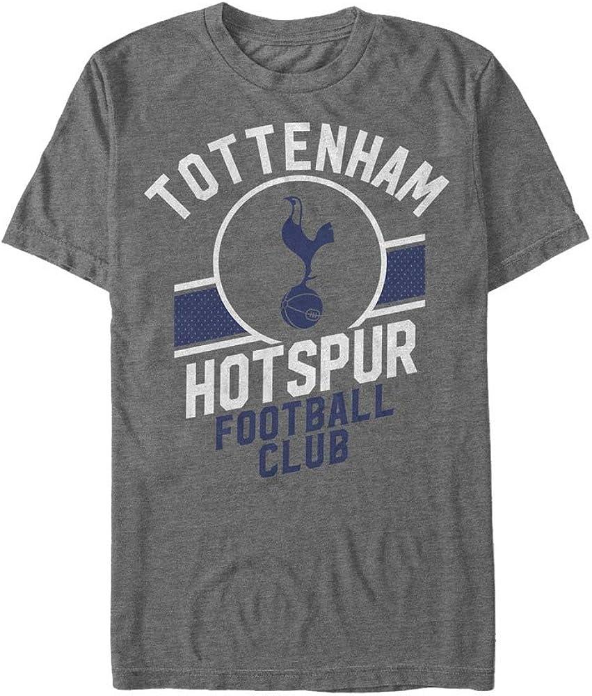 Tottenham Hotspur Football Club Mens Logo Athletic Print T-Shirt