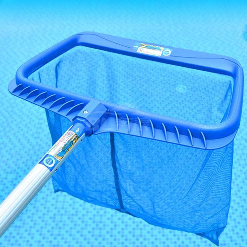 Skimmer Net de piscina con poste - Skimmer de malla fina para ...