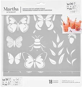 Martha Stewart Layering Butterfly Stencil