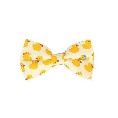 3f7ccdabcbb23a Snobbop Gebundene Fliege Weiss Enten Rubber Duck Schleife Baumwolle Bow Tie