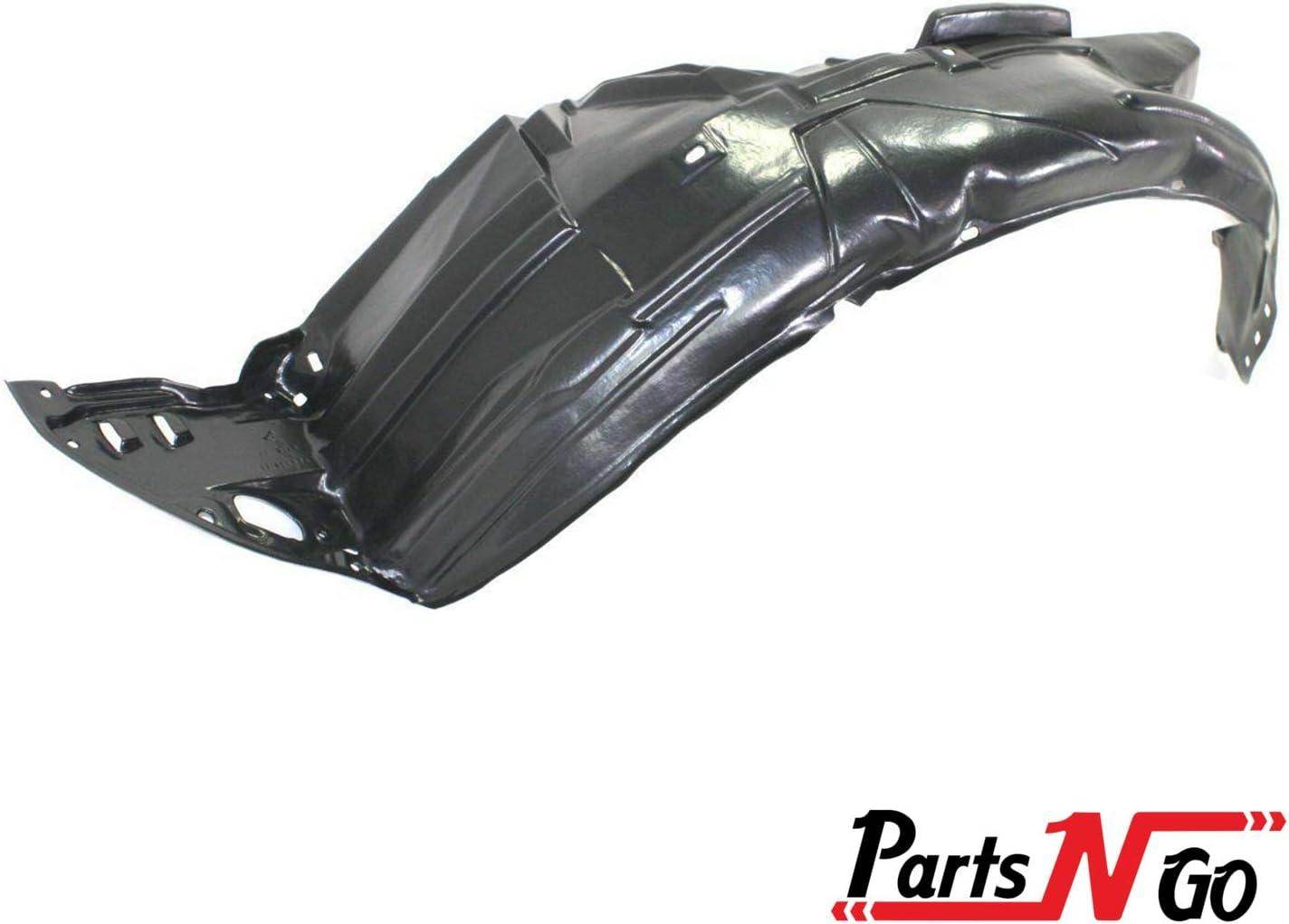 Parts N Go 06-11 Civic Fender Liners Compatible Honda Splash Guard Pair Front Driver /& Passenger Side LH//RH Liner HO1251106 74101-SVA-A00 HO1250106 74151-SVA-A00