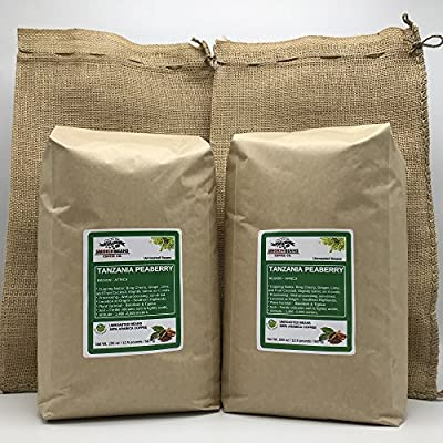 TANZANIA PEABERRY Specialty-Grade – Fresh-Current-Crop – Unroasted Green Coffee Beans – Wet Processed, Sundried – Plant Varietal Bourbon, Typica – Farm: Tembo Coffee
