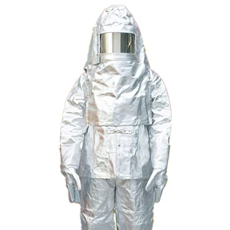 MXBAOHENG Heat Resistant Suit Anti Thermal Radiation 1000 ...