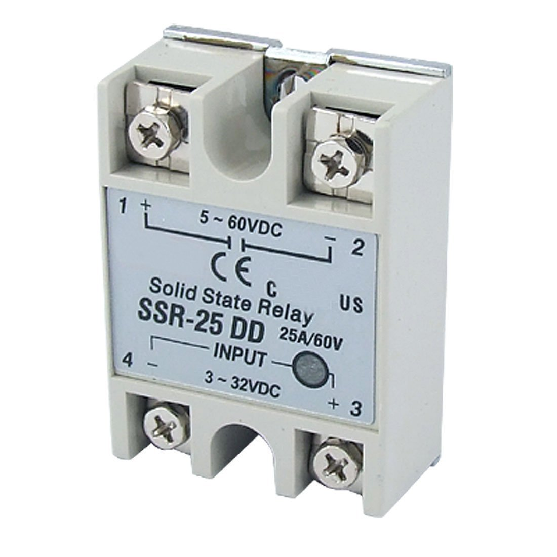 Amazoncom Lightobject ESSRDAC Solid State Relay DC In AC Out - Solid state relay gets hot