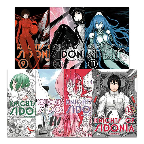 Coleção Knights Sidonia Volumes Ao