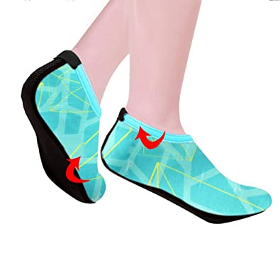 Men Women Outdoor Water Sport Diving Swim Socks Yoga Socks Soft Beach Shoes