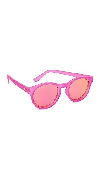 Le Specs Hey Macarena Matte Magenta Gafas del Sol uni ...