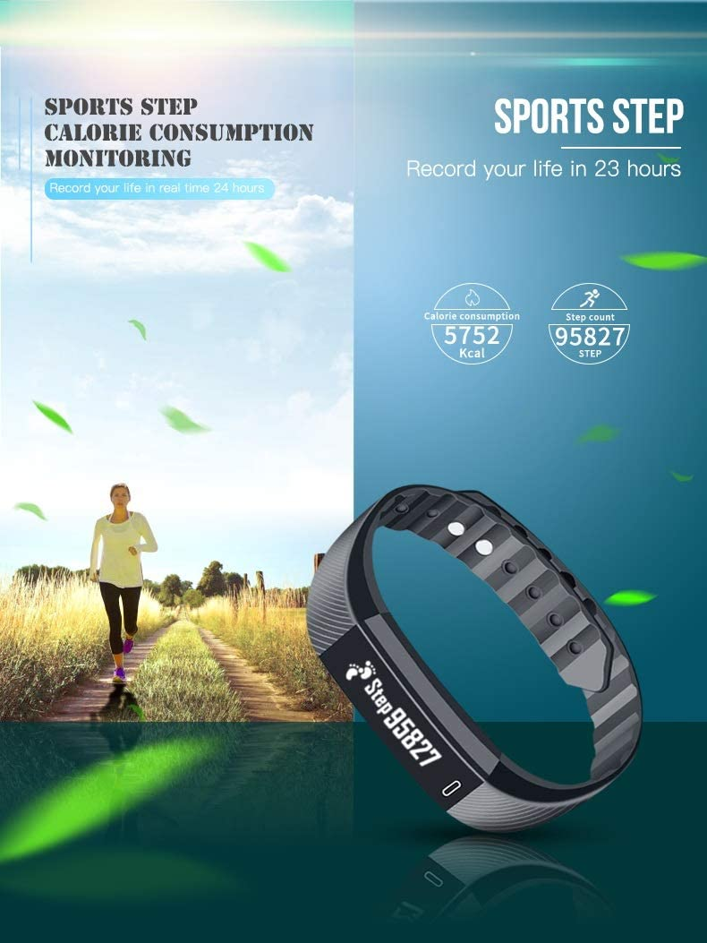 Sports et Loisirs FOMRE Montre Connectée Activité Tracker..